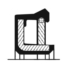 Rotary shaft seal a-te