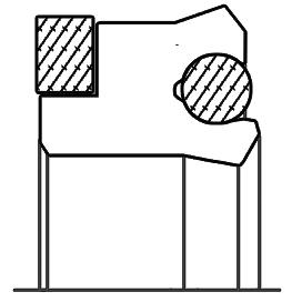 Piston seal ak04